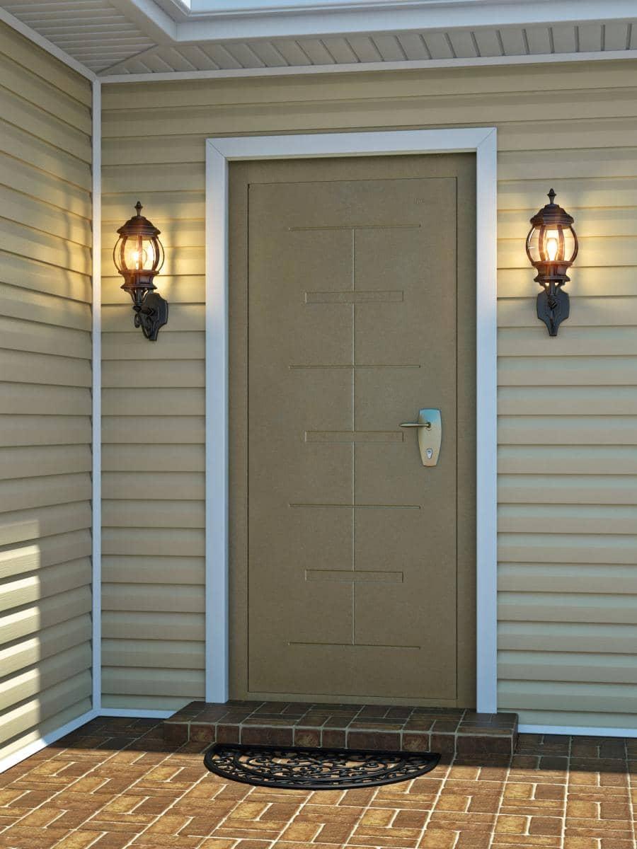 Купить уличную дверь в частный дом мультилок